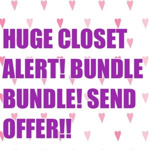 ACCEPTING OFFERS BUNDLE BUNDLE SEND OFFERS